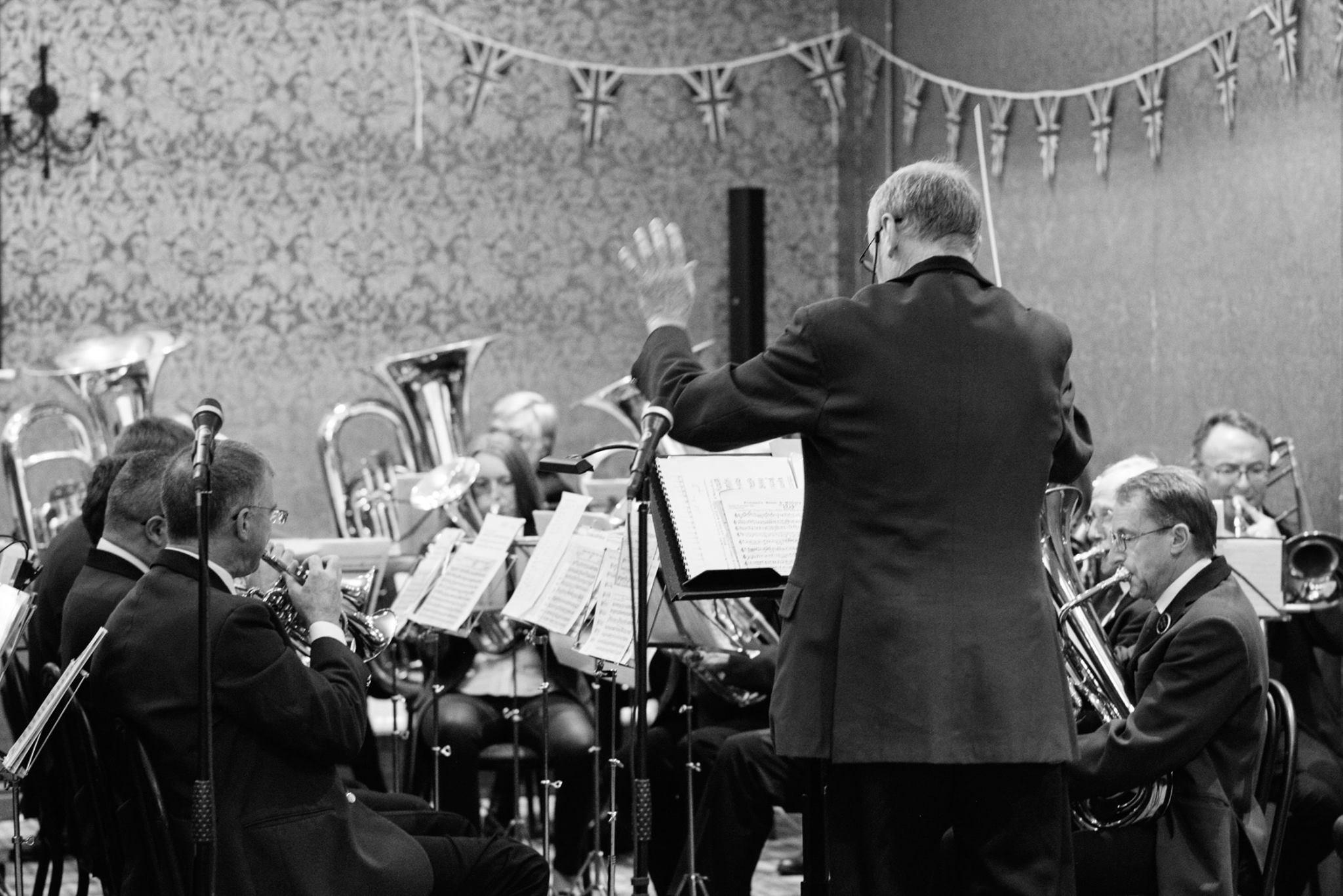 RAF 100 concert at Hexham Mart